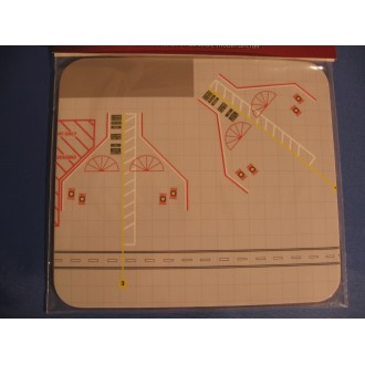 1st Choice Airliner Display Mat Apron Large 1/400 Scale FC4ADM005