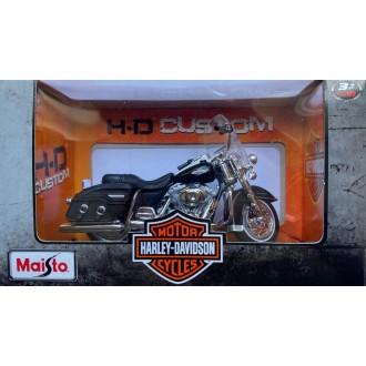 Maisto Harley Davidson 2001 FLHRC Road King Classic Black 1:18 Scale