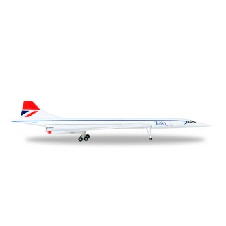 Herpa Wings British Airways Aérospatiale-BAC Concorde G-BOAF 1/500 Scale 527477-001