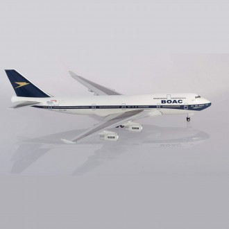 Herpa Wings British Airways Boeing 747-400 BOAC Heritage Design G-BYGC 100 Year Anniversary 1:500 Scale 533317
