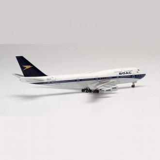 Herpa Wings British Airways Boeing 747-400 BOAC Heritage Design G-BYGC 100 Year Anniversary 1:500 Scale 533317