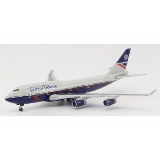 Herpa British Airways Boeing 747-400 100th Anniversary Landor Heritage Design City of Swansea 1:500 Scale 533393