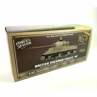Forces of Valor British Sherman Firefly Normandy 1944 1/32 Scale 801036A Pre-Order