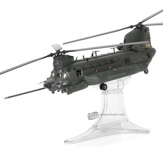 Forces of Valor Boeing Chinook MH-47G 03740 United States Army #160 Special Operations Aviation Regiment, 160th SOAR(A) Night Stalkers 1:72 Scale 821005E