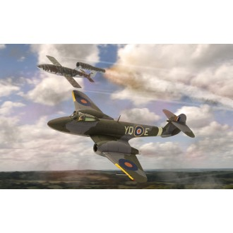 Corgi Aviation Archive Gloster Meteor with Doodlebug Dixie Dean 616 Squadron RAF 1/72 Scale AA27403