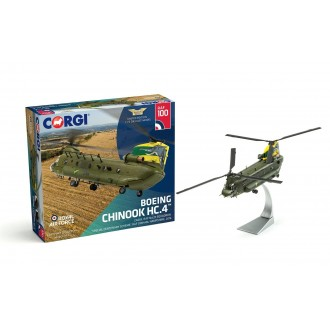 Corgi Aviation Archive Boeing Chinook HC.4 ZA683 RAF No.27 Squadron Special Centenary Scheme 100 Years of the RAF 1/72 Scale AA34214