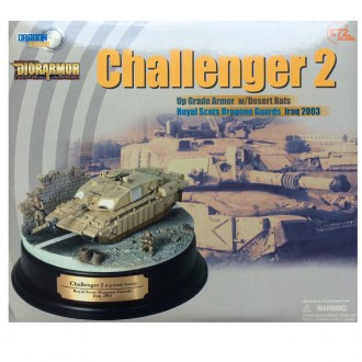 Dragon Armor Challenger 2 Royal Scots Desert Rats Iraq 2003 1/72 Scale Diecast Model Diorama 60197