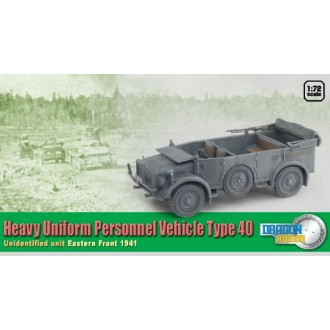 Dragon Armor Heavy Uniform Personnel Vehicle Type 40 1/72 Scale 60430