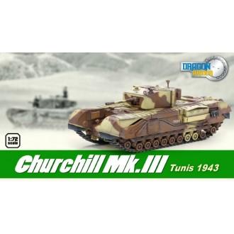 Dragon Armor Churchill Mk.III Tunis 1943 1/72 Scale 60569