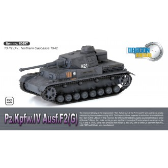 Dragon Armor Panzer Pz.Kpfw.IV Ausf.F2(G) Northern Caucasus 1942 1/72 Scale 60697