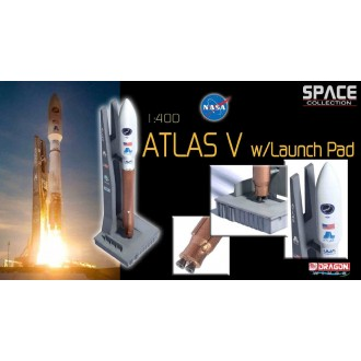 Dragon Wings Space Collection Atlas V Rocket with Launch Pad 1/400 Scale 56246