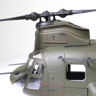 Forces of Valor Chinook CH-47D A Company 7th Battalion 101st Airborne Division Afghanistan 2003 1/72 Scale 821004A