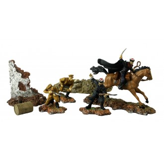Forces of Valor Russian Cossack Cavalry Division Eastern Front 1942 1/72 Scale 83089