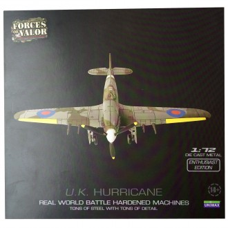 Forces of Valor UK RAF Hurricane 1/72 Scale 85090