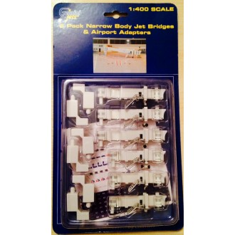 Gemini Jets Narrow Body Jet Bridges & Airport Adapters 1/400 Scale GJARBRDG1