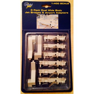 Gemini Jets Wide Body Jet Bridges & Airport Adapters 1/400 Scale GJARBRDG2