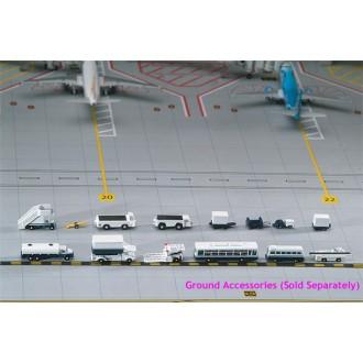 Gemini Jets Airport Service Support Vehicles Set 1/400 Scale GJARPTSETA