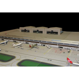 Gemini Jets Wide Body Airport Hanger 1/400 Scale GJWBHGR