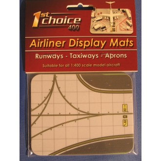 1st Choice Airliner Display Mat Taxiway Small 1/400 Scale FC4ADM004