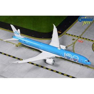 Gemini Jets Boeing 787-10 Dreamliner PH-BKA 1/400 Scale Livery 100 Year Edition Flaps/Slats Extended GJKLM1890F