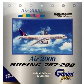 Gemini Jets Air 2000 Boeing 757-200 G-OOOS 1/400 Scale GJAMM068