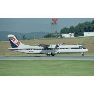 Gemini Jets Delta ASA Aerospatiale Aeritalia ATR-72-200 N631AS 1/400 Scale GJDAL1101