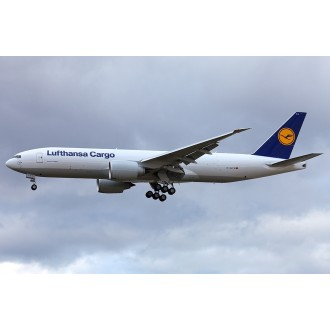 Gemini Jets Lufthansa Cargo Boeing B777 Freighter Good Day USA D-ALFA 1/400 Scale GJDLH1364