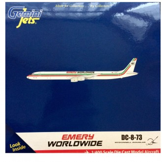 Gemini Jets Emery Worldwide McDonnell Douglas DC-8-73 N792FT 1/400 Scale GJEMR833