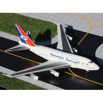 Gemini Jets Yemenia Boeing 747SP 70-YMN 1/400 Scale GJIYE341