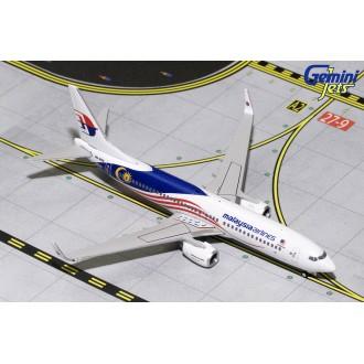 Gemini Jets Malaysia Airlines Boeing 737-800 Negaraku Livery 9M-MXS 1/400 Scale GJMAS1681