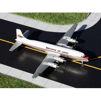 Gemini Jets Northern Air Cargo Alaska Douglas DC-6 N43872 1/400 Scale GJNAC1152
