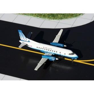Gemini Jets United Express SAAB 340B N196CJ 1/400 Scale GJUAL1110