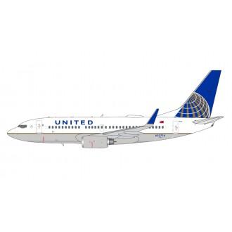 Gemini Jets United Airlines Boeing B737-700 N12754 1/400 Scale GJUAL1601
