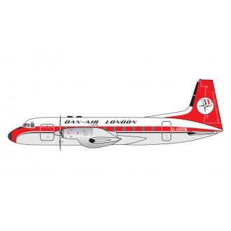 Gemini Jets Dan Air London Hawker-Siddeley HS-748 G-ARRW Scale 1/400 GJDAN112 Pre-Order
