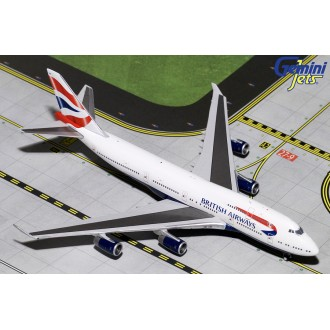 Gemini Jets British Airways Boeing 747-400 G-BYGF 1/400 Scale GJBAW1792