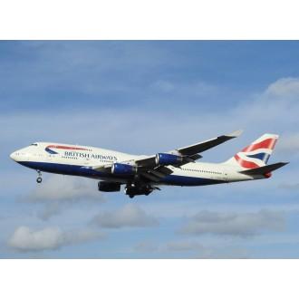 Gemini Jets British Airways Boeing 747-400 G-BYGF 1/400 Scale GJBAW1792