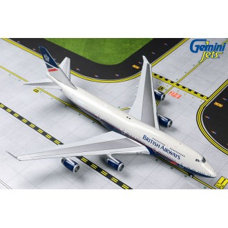 Gemini Jets British Airways Boeing 747-400 Retro Landor Livery BA 100 G-BNLY 1/400 Scale GJBAW1857