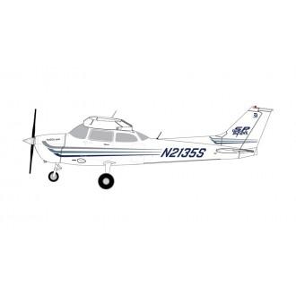 Gemini Jets General Aviation Cessna 172 Skyhawk Sporty's Pilot Shop N2135S 1/72 Scale GGCES006