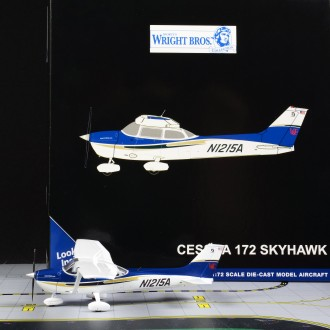 Gemini Jets General Aviation Cessna 172 Skyhawk Sporty's Pilot Shop N21215A 1/72 Scale GGCES007
