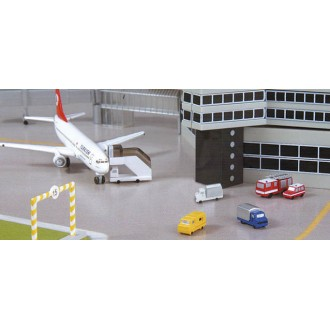Herpa Wings Scenix Airport Accessories Set VI 1/500 Scale 519724