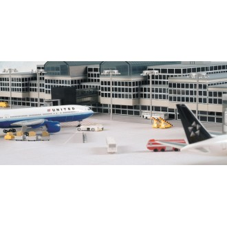 Herpa Wings Scenix Series Airport Basic Set 1 1/500 Scale 520362