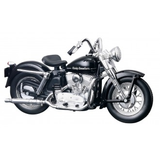 Maisto Harley Davidson 1952 K Model Black 1/18 Scale