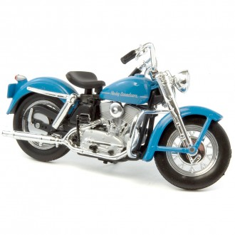 Maisto Harley Davidson 1952 K Model Blue 1/18 Scale