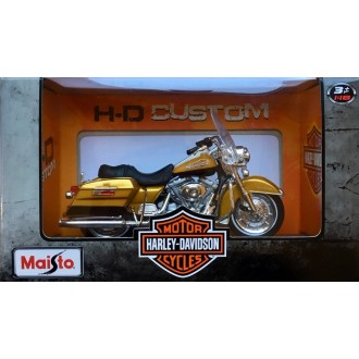Maisto Harley Davidson 1999 FLHR Road King Gold 1/18 Scale