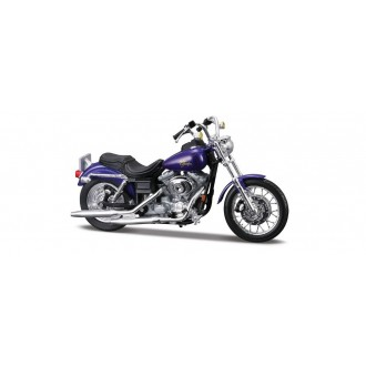 Maisto Harley Davidson 2000 FXDL Dyna Low Rider Purple 1/18 Scale