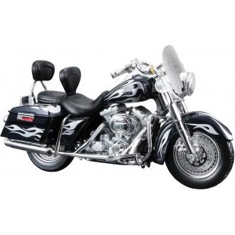 Maisto Harley Davidson 2002 FLHRSEI CVO Custom Silver 1/18 Scale