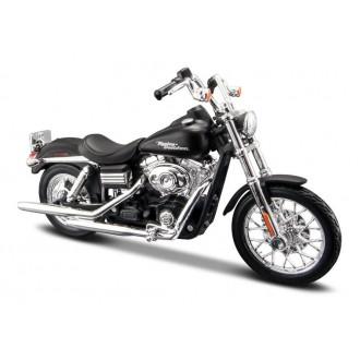 Maisto Harley-Davidson 2006 FXDBI Dyna Street Bob Black 1/18 Scale