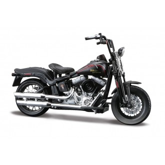 Maisto Harley Davidson 2008 FLSTSB Cross Bones Black 1/18 Scale