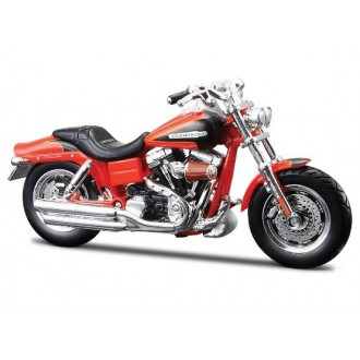 Maisto Harley-Davidson 2009 FXDFSE CVO Fat Bob Orange 1/18 Scale