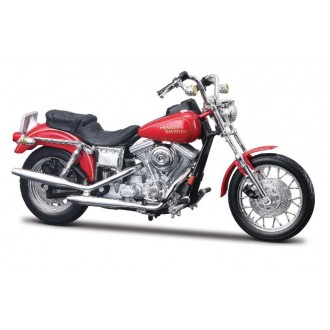 Maisto Harley Davidson FXDL Dyna Low Rider Red 1/18 Scale